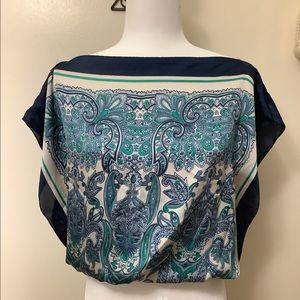 Max Edition handkerchief blouse